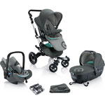 Poussette trio neo travel set shadow grey pas cher