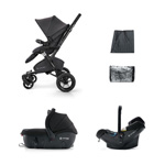 Pack poussette trio neo travel set raven black pas cher