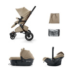 Pack poussette trio neo travel set almond beige pas cher