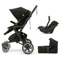 Pack poussette trio neo plus mobility set shadow black