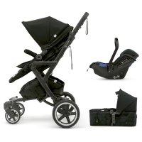 Pack poussette trio neo plus mobility set shadow black