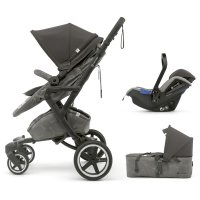 Pack poussette trio neo plus mobility set moonshine grey