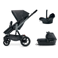 Pack poussette trio wanderer travel set midnight black