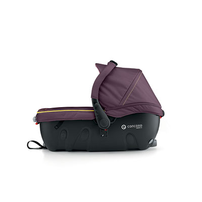 Pack poussette trio neo travel set rose pink Concord