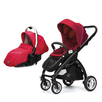 Pack poussette duo 4 roues kudu + coque sono raspberry