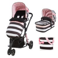 Pack poussette duo giggle 2 avec nacelle golightly 3