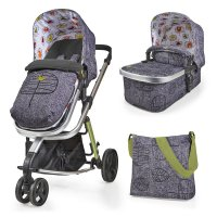 Pack poussette duo giggle 2 avec nacelle dawn chorus