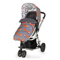 Poussette 3 roues convertible giggle mix pramette mister fox