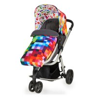 Poussette 3 roues convertible giggle mix pramette pixelate