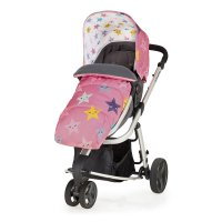 Poussette 3 roues convertible giggle mix pramette happy stars