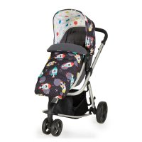 Poussette 3 roues convertible giggle mix pramette space racer