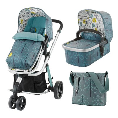 Pack poussette duo giggle 2 avec nacelle fjord Cosatto