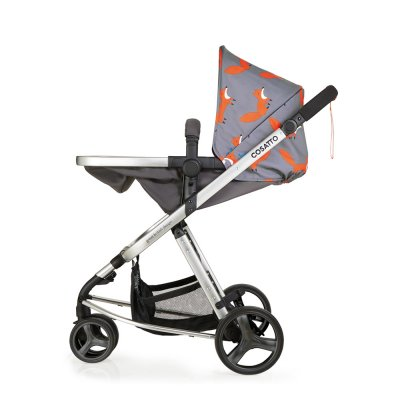 Poussette 3 roues convertible giggle mix pramette mister fox Cosatto