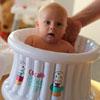 Baignoire bébé gonflable cupcake baby blanc Cupcake babies