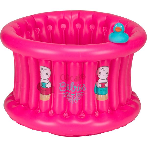Baignoire bébé cupcake baby fushia Cupcake babies