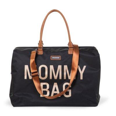 Sac à langer mommy bag black gold Childhome