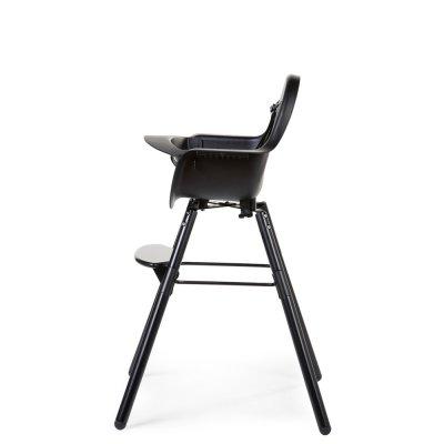 Chaise haute bébé evolu 2 noir/noir Childhome