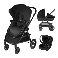 Pack poussette trio onida flex smoky anthracite