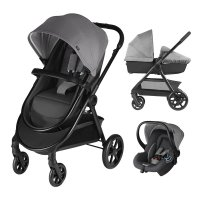 Pack poussette trio onida flex comfy grey