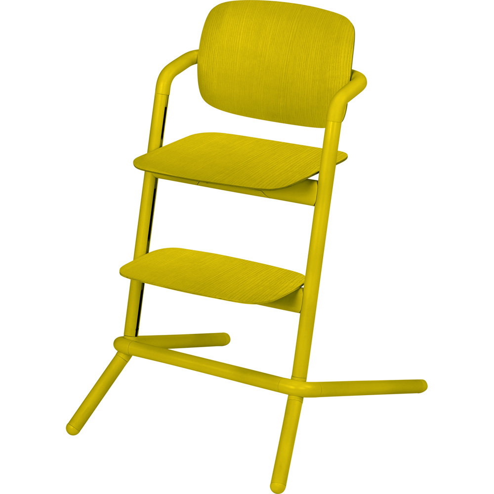 chaise haute b b volutive lemo bois canary yellow de cybex sur allob b. Black Bedroom Furniture Sets. Home Design Ideas