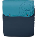 Couvre jambe petit modele water colours blue de Cybex