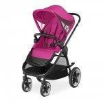 Poussette 4 roues balios m passion pink/purple