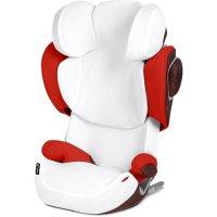 Housse de protection pour siège auto solution z-fix blanche