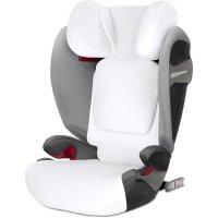 Housse de protection pour siège auto pallas s-fix/solution s-fix blanche