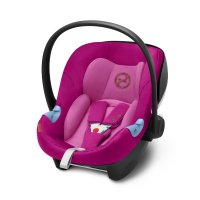 Siege auto aton m i-size fancy pink- groupe 0+