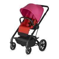 Poussette 4 roues balios s fancy pink/purple