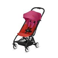 Poussette 4 roues eezy s fancy pink/purple