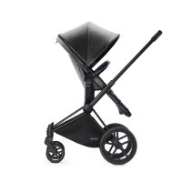 Pack poussette duo priam black 2 en 1 light mid grey
