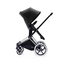 Pack poussette duo priam chrome 2 en 1 light black