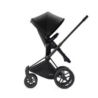 Pack poussette duo priam black 2 en 1 trekking black