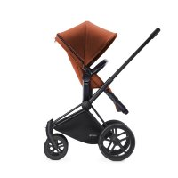 Poussette combiné duo priam black 2 en 1 trekking autumn gold