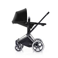 Poussette combiné duo priam chrome 2 en 1 trekking black