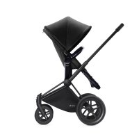 Pack poussette duo priam black 2 en 1 tout terrain black
