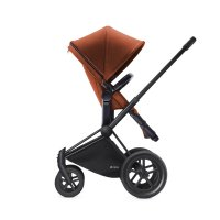 Poussette combiné duo priam black 2 en 1 tout terrain autumn gold