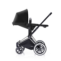 Poussette duo priam chrome 2 en 1 tout terrain black