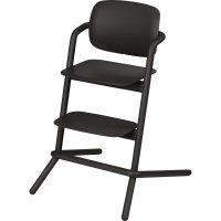 Chaise haute bébé évolutive lemo infinity black