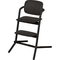 Chaise haute bébé évolutive lemo bois infinity black