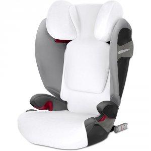 Housse d'été pour siège auto pallas s-fix/solution s-fix blanche