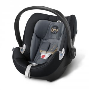 Siège auto aton q graphite black/dark grey - groupe 0+