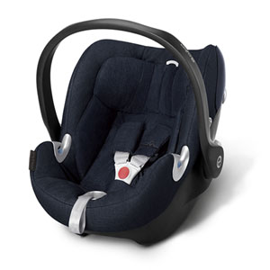 Siège auto aton q plus midnight blue/navy blue - groupe 0+