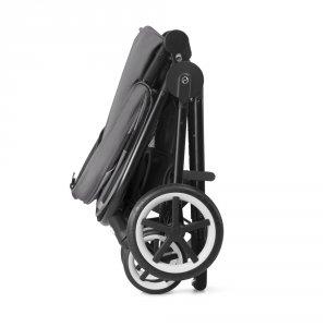 Cybex Poussette 4 roues balios m lavastone black/black
