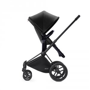 Poussette combiné duo priam black 2 en 1 light black