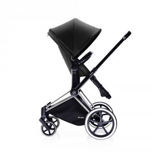 Poussette combiné duo priam chrome 2 en 1 light black