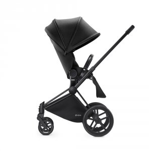 Poussette 4 roues priam black luxe light black