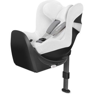 Housse d'été pour siège auto sirona m 2 i-size blanche Cybex