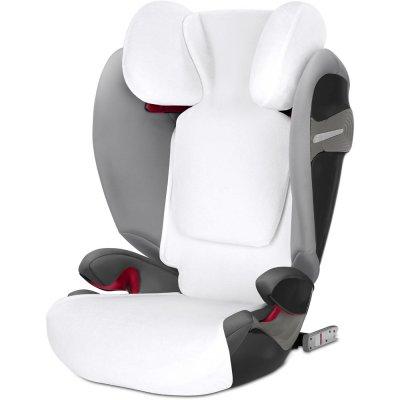 Housse d'été pour siège auto pallas s-fix/solution s-fix blanche Cybex